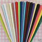 "Plain Poly Cotton Fabric 23 Colours - FQ, Half Metre, Metre  FREE P&P 44"" wide"
