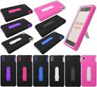 Kickstand Hard Cover Silicone Case For Sony Xperia Z1 C6916
