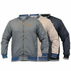Mens Summer Soul Star Jacket Baseball Coat American Lined Lightweight Quilted
