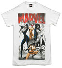 Marvel Comics Bad Girls Superhero Adult T-Shirt Tee