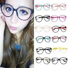 Fashion Candy Color Classic Shades Plastic Frame Clear Lens Oversize Sunglasses