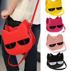 Fashion Korean Women's Girl Handbag CUTE lovely Cat Messenger PU Shoulder Bags