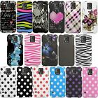 For Samsung Galaxy S5 i9600 Cover Design Hybrid Protector Case