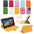 """Universal 7"""" Inch Android Tablet Case Folio PU Leather Stand Folding Flip Cover"""