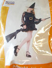Adorable Witch Child Costume 6-8 8-10 NIP