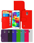 LEATHER WALLET SERIES CASE & SCREEN PROTECTOR FOR SAMSUNG GALAXY S5