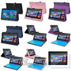 PU Leather Stand Pouch Case Cover For Microsoft Surface RT+Screen Protector