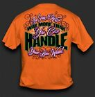 NEW Hot Gift Sweet Thing Funny Too Sassy & Wild to Handle Girlie Bright T Shirt