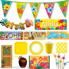 Summer Tropical ALOHA BBQ Party Supplies Items Tableware Decorations Listing PS