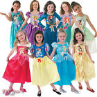 FANCY DRESS COSTUME ~ GIRLS DISNEY PRINCESS CLASSIC FAIRYTALE AGES 3-8 YEARS