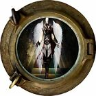 Huge 3D Porthole Fantasy Angel View Wall Stickers Film Mural Art Decal Wallpaper