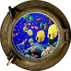 Huge 3D Porthole Fantasy Under Sea View Wall Stickers Film Art Decal Wallpaper