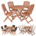 Sienna Garden Furniture Round Set For 4 - Choice of Chairs