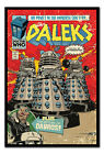 Framed Doctor Who The Daleks Comic Poster Ready To Hang New