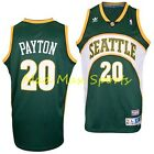 GARY PAYTON Seattle SUPERSONICS Sonics Road HWC Throwback SWINGMAN Jersey S-2XL