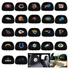 Brand New 2pc Set NFL Car Truck SUV Van Headrest Head Rest Covers