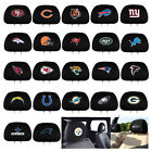 New 2pc Set NFL Pick Your Team Car Truck SUV Van Headrest Covers Automotive Gear $14.98 USD on eBay