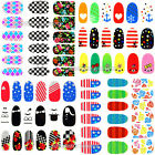 Stylish Nail Sticker Nail Art Franch Tips Sticker Decal Foil Glitter Decoration