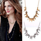 New Women's Fashion Renegade Cluster Linked Beads Gold / Silver Necklace