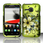 For Alcatel ONETOUCH Evolve Rubberized HARD Case Snap On Phone Cover Accessory