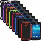 For Samsung Galaxy S4 Active Hybrid Hard Shockproof Matte Rugged Case Cover