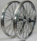 BMX Wheels: Counterfitt/Alienation Felon Wheelset-  9 Tooth - Fully Sealed! LOUD