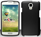 BLACK Snap-On Case Hard Cover for LG Volt LS740