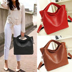 PU Leather Womens Ladies Classic Celebrity Tote Hobo Handbag Shoulder Bag