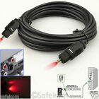 1M 2M 5M 10M 20M Digital Fiber Optical SPDIF Toslink Audio Surround Sound Cable
