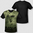 United States Army Paratroopers Picture All Over Front Sublimation T-shirt Top