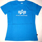 Alpha Industries Girls Logo T Shirt Tshirt olive,blue/white,white/pink XS,M,L