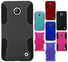 Nokia Lumia 635 MESH Hybrid Silicone Rubber Skin Case Cover + Screen Protector