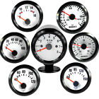 "2"" VEHICLE POINTER BOOST WATER TEMP OIL TEMP OIL PRESSURE TACHO VOLT GAUGE"