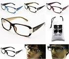 D1239CL-VP Clear Lens Eyeglasses Sunglasses Rectangular DG eyewear fashion+Pouch