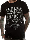Official Sons Of Anarchy (Motorcycle Club) T-shirt - All sizes