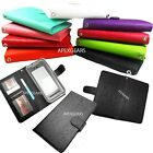 Universal Wallet Pouch Slide Up Flip Cover Case Accessory Protector For ZTE