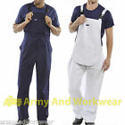 Cotton Drill Bib And Brace Painters Overalls Coveralls Engineers Dungarees Mens