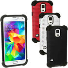 Silicone Etui Housse & Maille pour Samsung Galaxy S5 SV SM-G900 Gel Case Cover