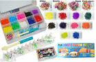 Loom Bands Pc Refill Kit Box Bracelet Rubber Band Mix Block Colour Full Xmas new