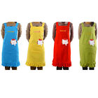 Lady Lovely Cotton Apron with big pocket for Cooking Kitchen BIB APRONS