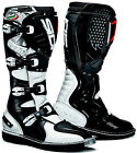NEW SIDI AGUEDA MX MOTOCROSS DIRTBIKE OFFROAD BOOTS BLACK WHITE ALL SIZES