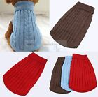 Cute Pet Dog Puppy Cat Warm Jumper Sweater Clothes Knitwear Costume Coat Apparel