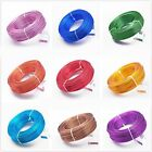 Wholesale 18Gauge 1.0mm Aluminum Cord Jewelry Wrap Craft Findings Wire 24Color