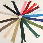 10'' -  32'' INCH CHUNKY NO.5 ZIPS PLASTIC OPEN END CRAFTS SEW ON BRIGHT ZIPPER