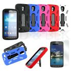 For SAMSUNG GALAXY S IV 4 S4 ACTIVE i537 Rubberized Hard Cover Case + LCD SCREEN