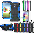 Rugged Armor Heavy Duty Hybrid Stand Case Cover For Samsung Galaxy S5 I9600 G900