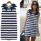 Fashion Women's Crew Neck Slim Dress Ladies Summer Clothing Casual Sunny Dress