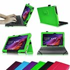"For ASUS Transformer Pad TF103C 10.1"" PU Leather Cover Case with Keyboard Holder"