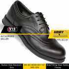 V12 VC100 Diplomat Black Exclusive Steel Toe Cap Mens Safety Work Brogue Shoes