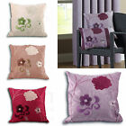 CLEARANCE SALE Floral Bloom Embroidered Cushion Cover – Chenille Cushion Case